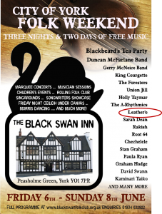 Folk WEekend 2014 Black Swan