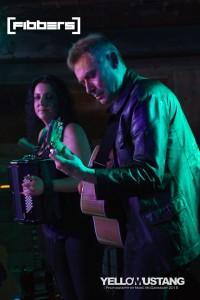 Leathero at Fibbers May 2015 - Bob & Angie