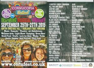 Cornucopia 2015 Flyer