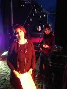 J& L backstage at Cornucopia 1